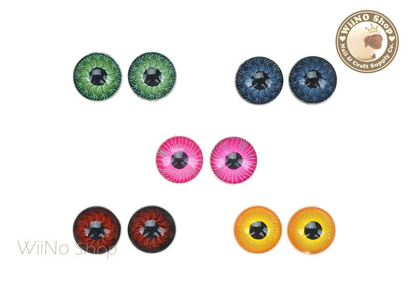 8mm Pupil Eye Nail Art Deco - 2 pcs