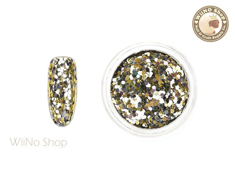 HX01 Hexagon Mixed Color Glitter
