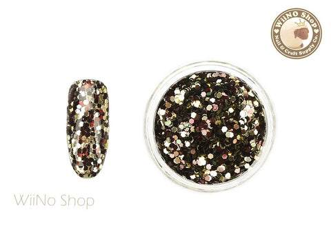 HX03 Hexagon Mixed Color Glitter