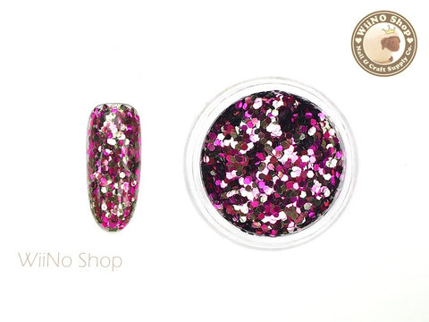 HX05 Hexagon Mixed Color Glitter