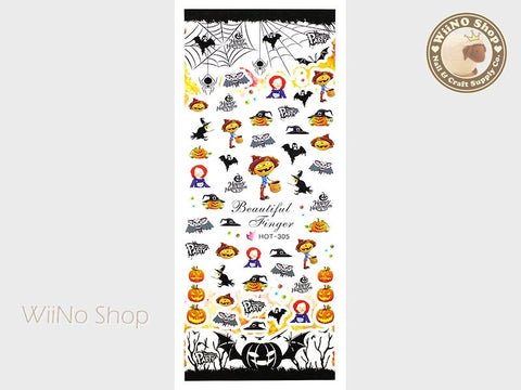 Halloween Water Slide Nail Art Decals - 1pc (HOT-305)