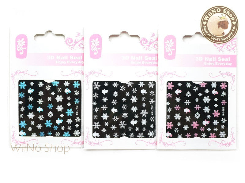 Snowflake nail art sticker combo pack 3 pcs sn 101sn 102sn snowflake nail art sticker combo pack 3 pcs sn 101sn 102sn 103 prinsesfo Image collections