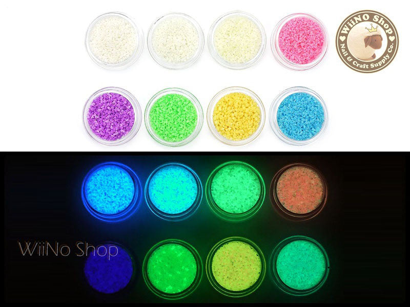 Luminous Glow Sand 3D Nail Art Decoration