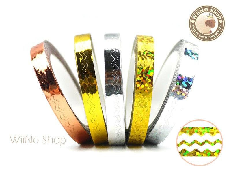 6mm Chevron Nail Art Striping Tapes Line