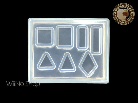 Triangle Rectangle Square 3D Nail Art Mold - 1 pc (PD02)