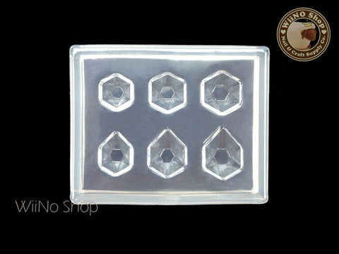 Hexagon Rhinestone 3D Nail Art Mold - 1 pc (PD05)