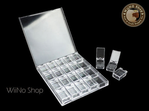 Clear Acrylic Nail Art Detachable Organizer Box
