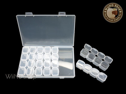 Clear Nail Art Organizer Box