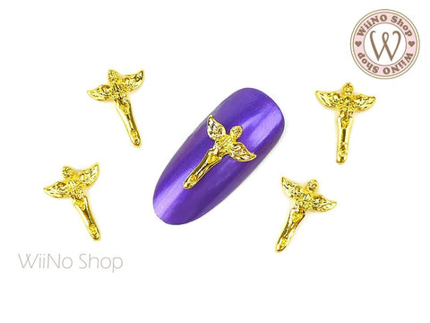 Angel Nail Metal Charm - 2 pcs