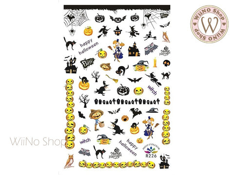 Halloween Adhesive Nail Art Sticker - 1 pc (R226)