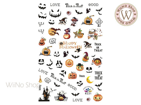 Halloween Adhesive Nail Art Sticker - 1 pc (R231)