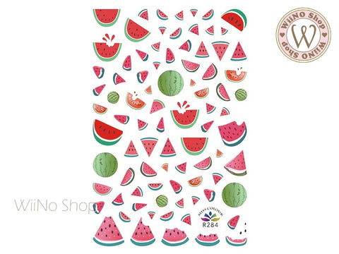 Watermelon Adhesive Nail Art Sticker - 1 pc (R284)