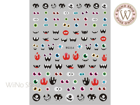 Halloween Adhesive Nail Art Sticker - 1 pc (WG354)