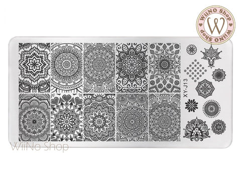 XY-J13 Nail Art Stamping Plate Template