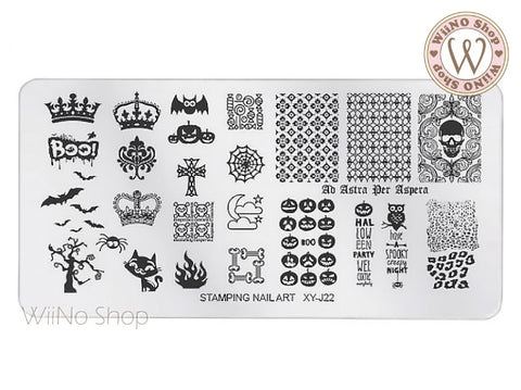 XY-J22 Nail Art Stamping Plate Template