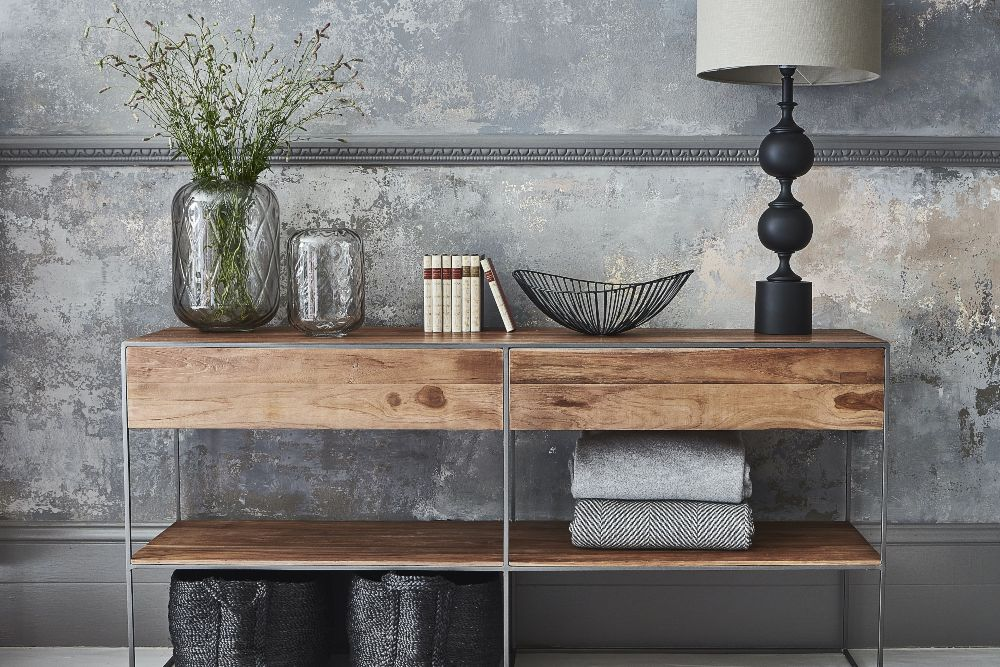 industrial interiors witney storage and minimal accessories