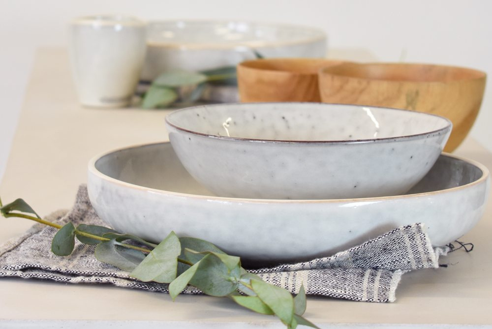 How to set your table for a dinner party nordic sand tableware