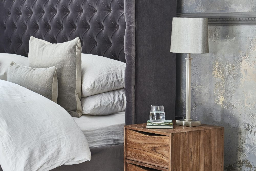 How to clean velvet bed headboard
