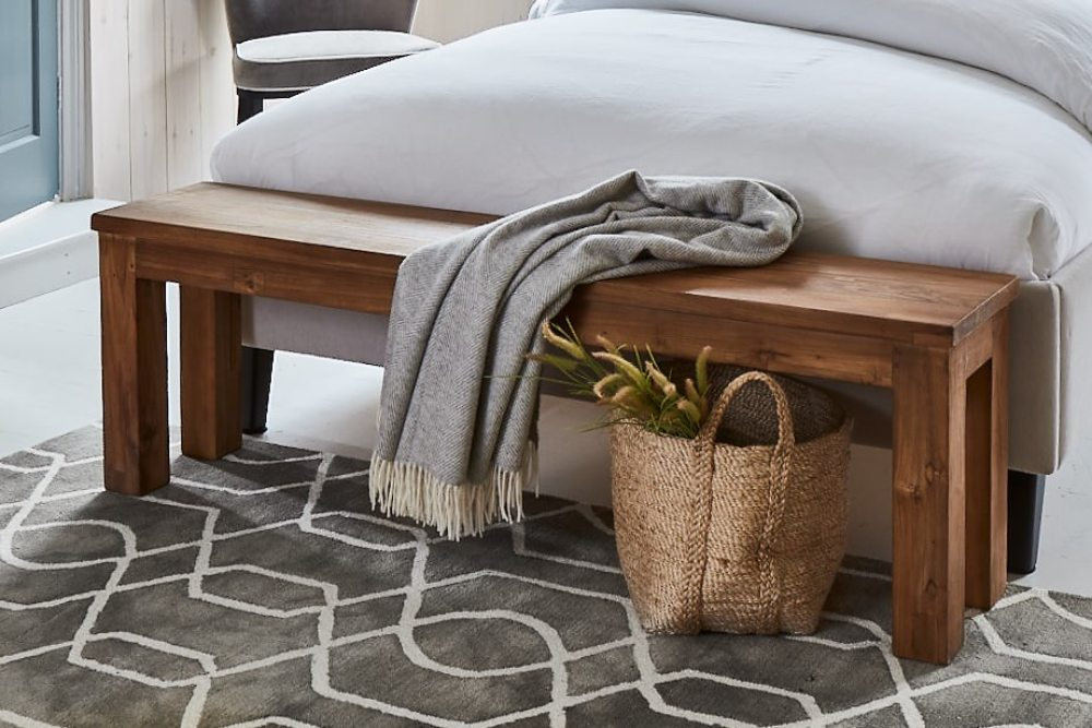 why you need a wooden bench bedroom foot of bed storage solution jute basket
