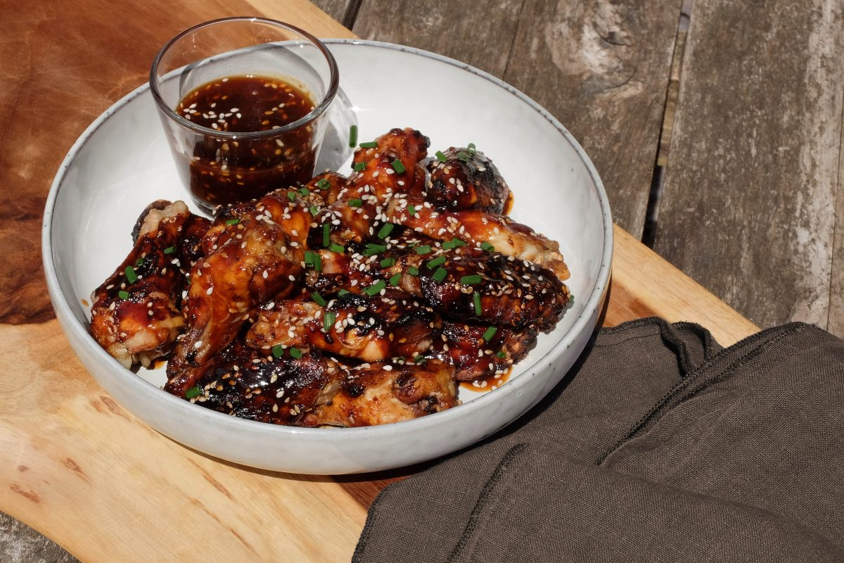 national bbq week 2020 sweet and sticky chicken wings