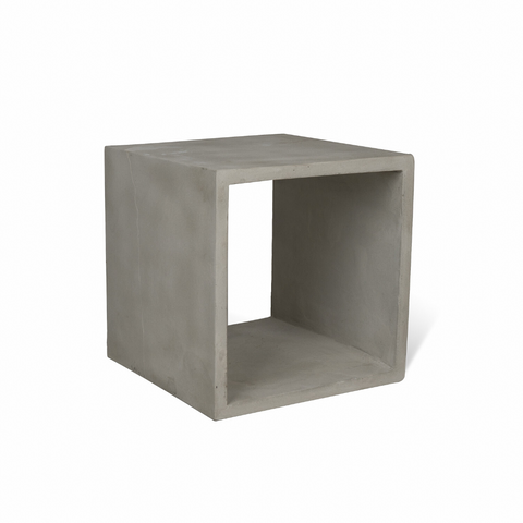 Concrete Storage Cube
