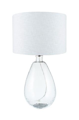 Benson Table Lamp - Tall Clear Glass