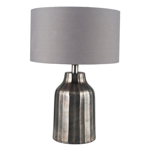 Hann Table Lamp - Antique Nickel