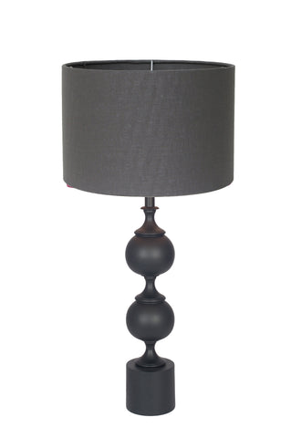 Harvard Table Lamp - Matt Black Aluminium