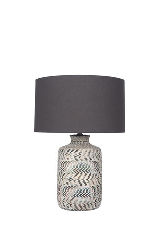 Nalpur Table Lamp - Natural Stoneware