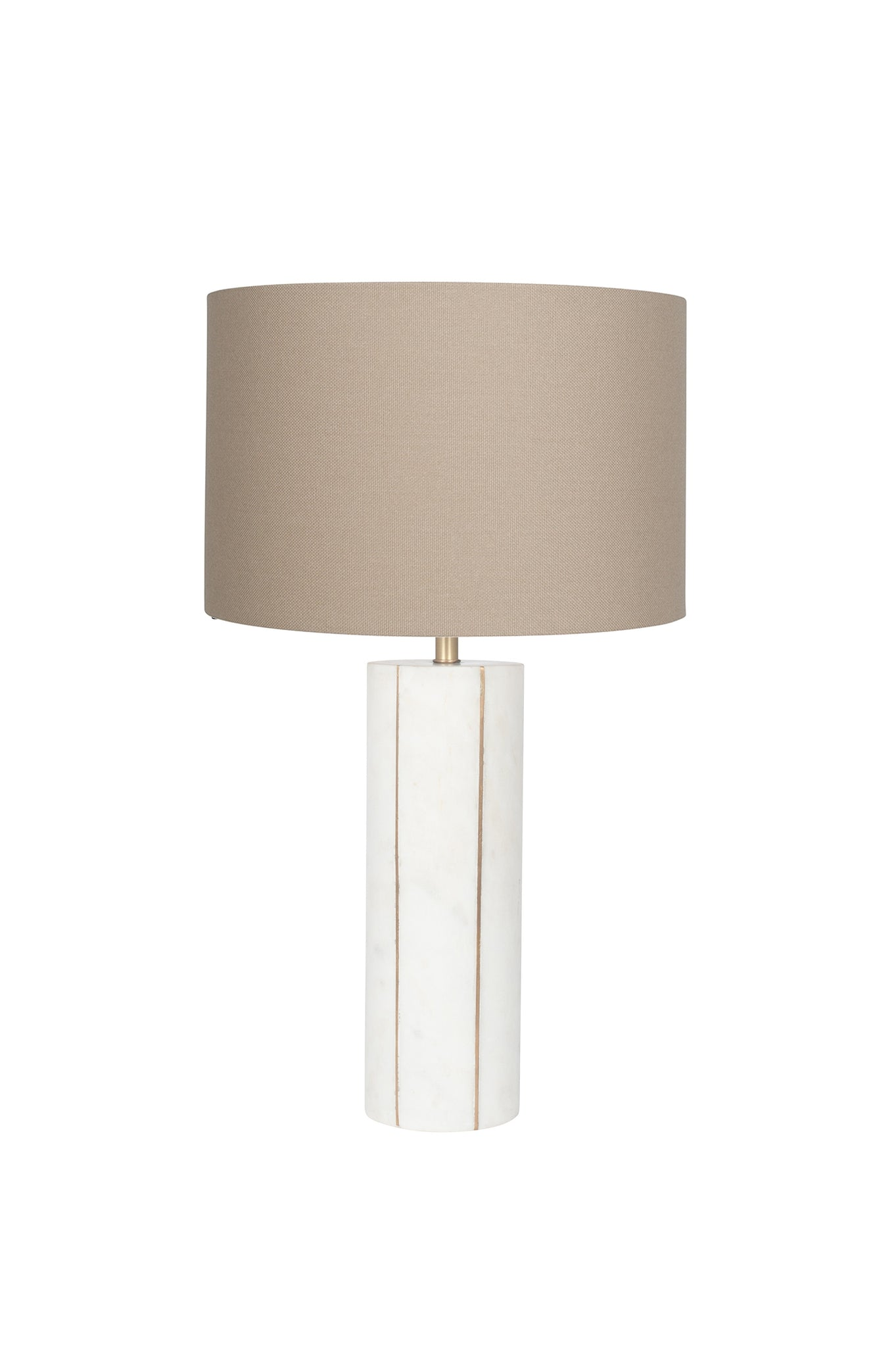 Peyrou Table Lamp - Marble and Gold Metal