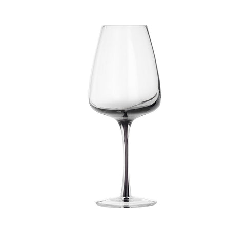 White Wine Glass - Smoke