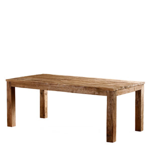 Unmilled Dining Table - Lifestyle