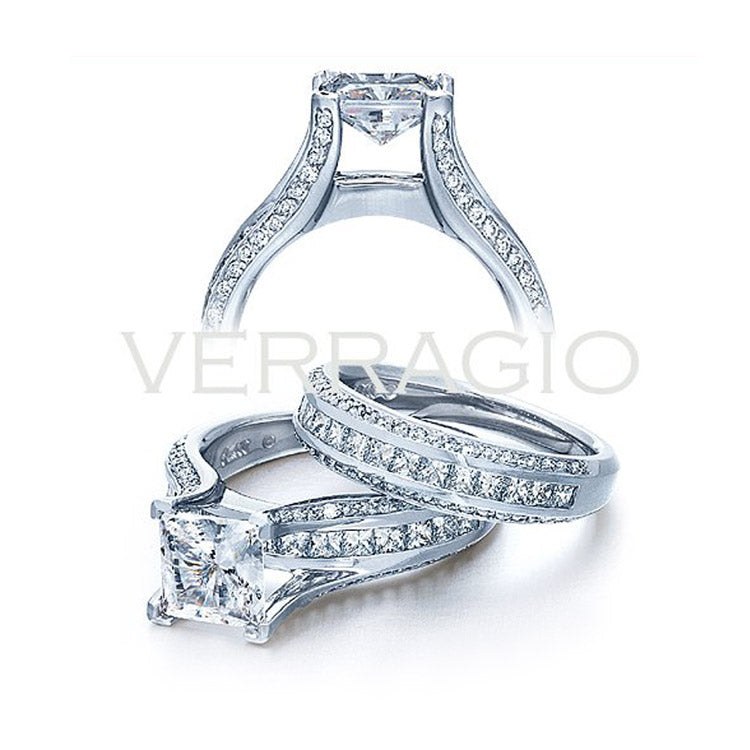 Verragio Princess Center Diamond Engagement Ring Classico 0262P