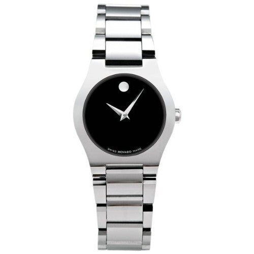 Movado Fiero Stainless Steel Ladies Watch 0605620