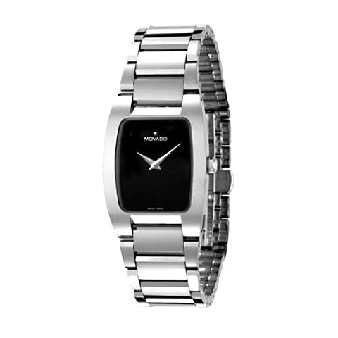 Movado Fiero Black Dial Swiss Quartz Women's Watch 0605622
