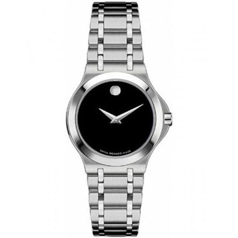 Movado Portfolio Stainless Steel Swiss Quartz Women's Watch 0606277