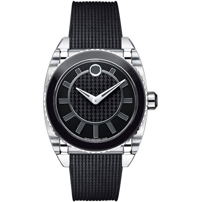 Movado Master Black Dial Swiss Quartz Women's Watch 0606298
