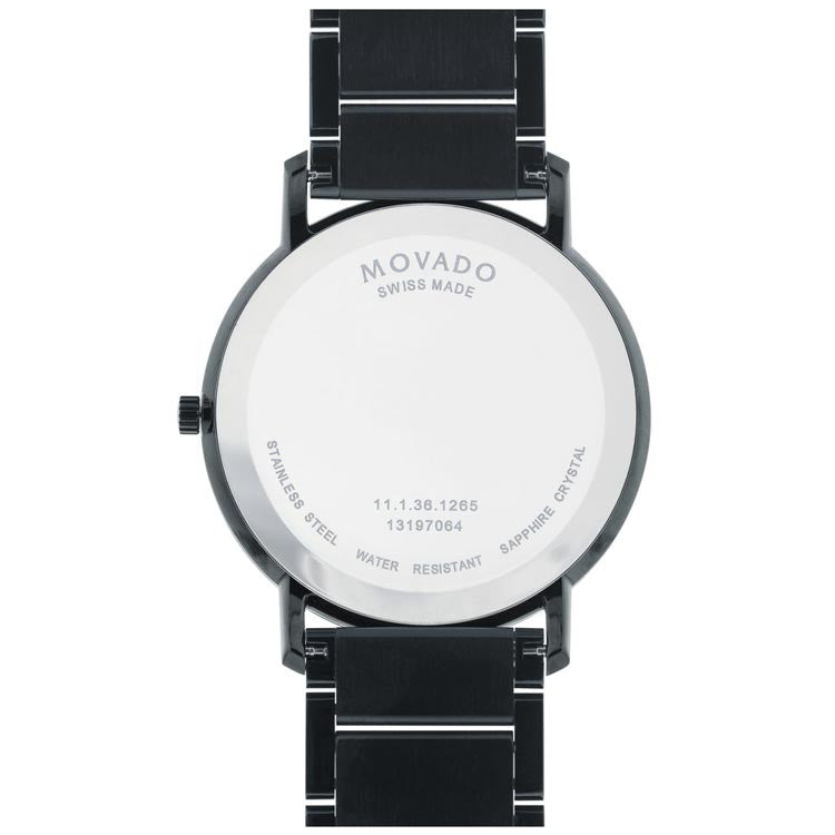 Movado Sapphire Men's PVD-finished Swiss Quartz Watch 0606882