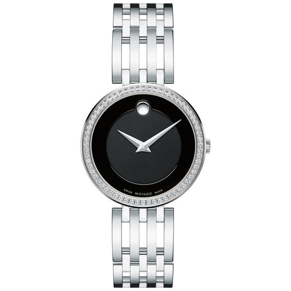 Movado Esperanza 28MM Swiss Quartz Diamond Women's Watch 0607052