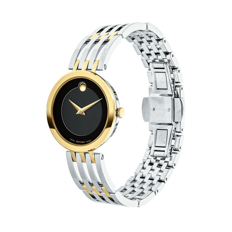 Movado Esperanza 28MM Two-tone Swiss Quartz Women's Watch 0607053