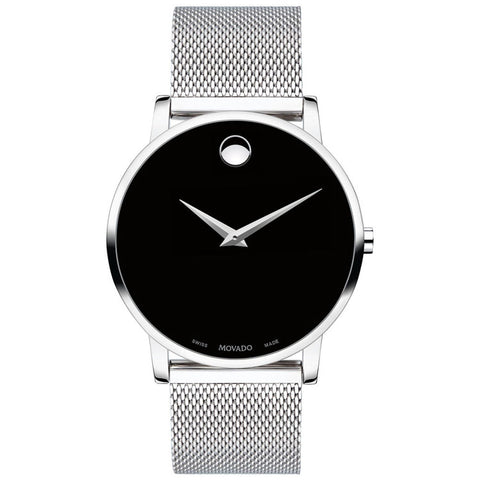 Movado Museum Classic Steel Bracelet Swiss Quartz Men's Watch 0607219
