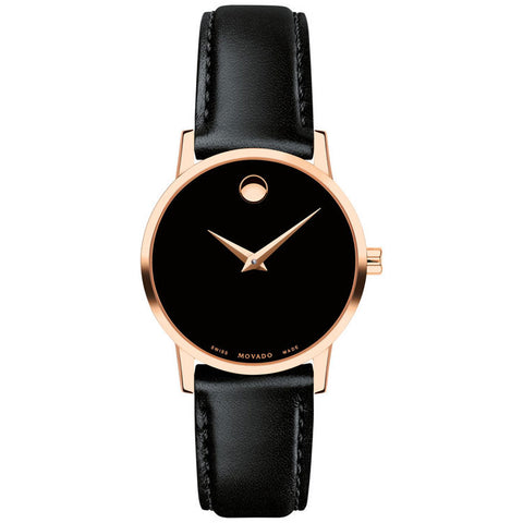 Movado Museum Classic Rose Gold-toned 28MM Ladies Watch 0607276
