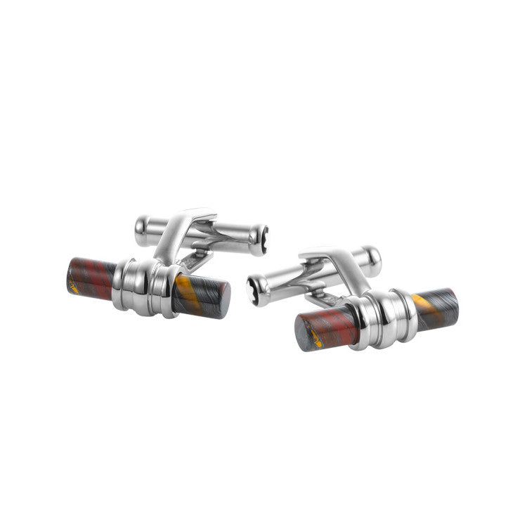Montblanc Tiger Iron Bar Cufflinks 107590
