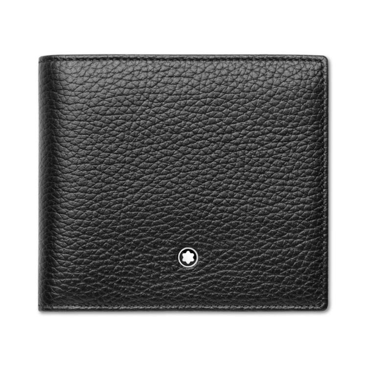 Montblanc Meisterstück Soft Grain 4cc Black Leather Wallet 111125