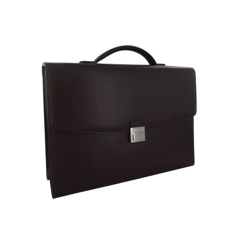 Montblanc Sartorial Tobacco Single Gusset Briefcase 113177