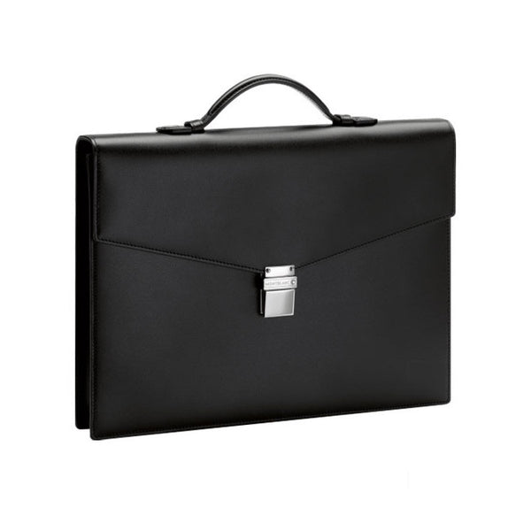 Montblanc Meisterstück Classic Single Gusset Small Briefcase 114523