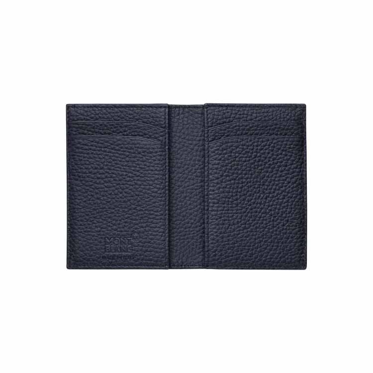 Montblanc Meisterstuck Soft Grain Business Card Holder with Gusset 116744