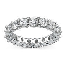 Natalie K 14K White Gold Diamond Eternity Band NK18664-W