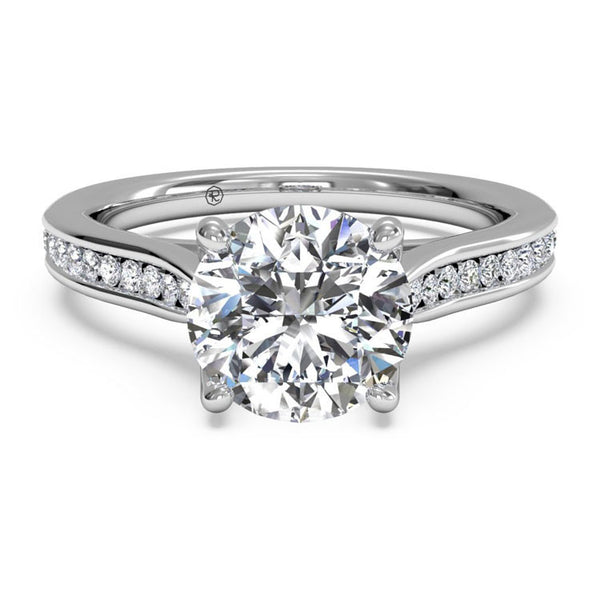 Ritani Channel-Set Diamond Engagement Ring 1RZ2487-4594