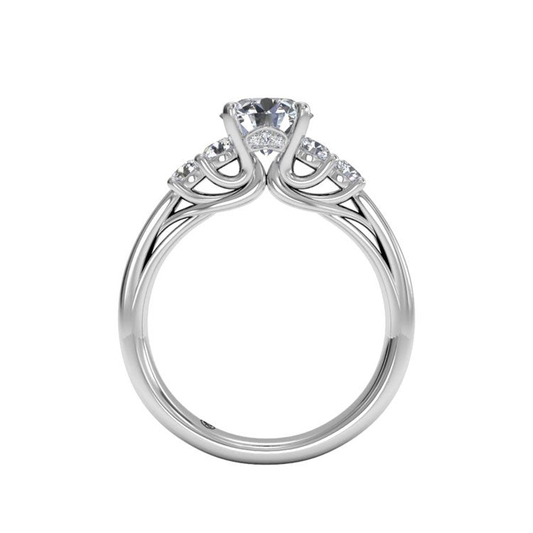 Ritani Trellis Five-Stone Diamond Engagement Ring 1RZ2716-5009